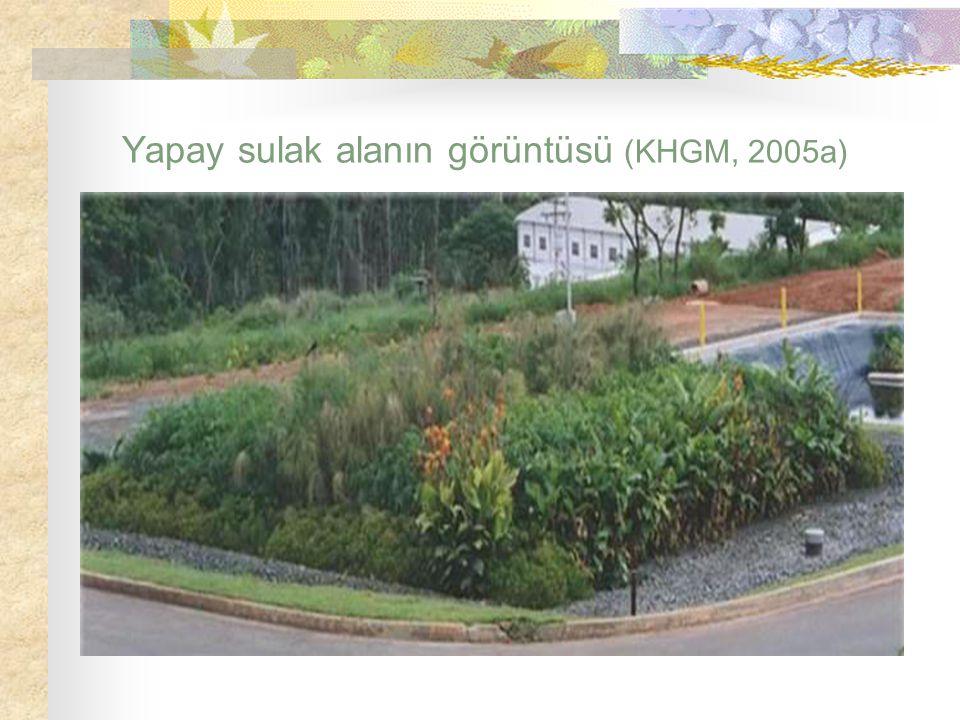 Yapay sulak alanın görüntüsü (KHGM, 2005a)