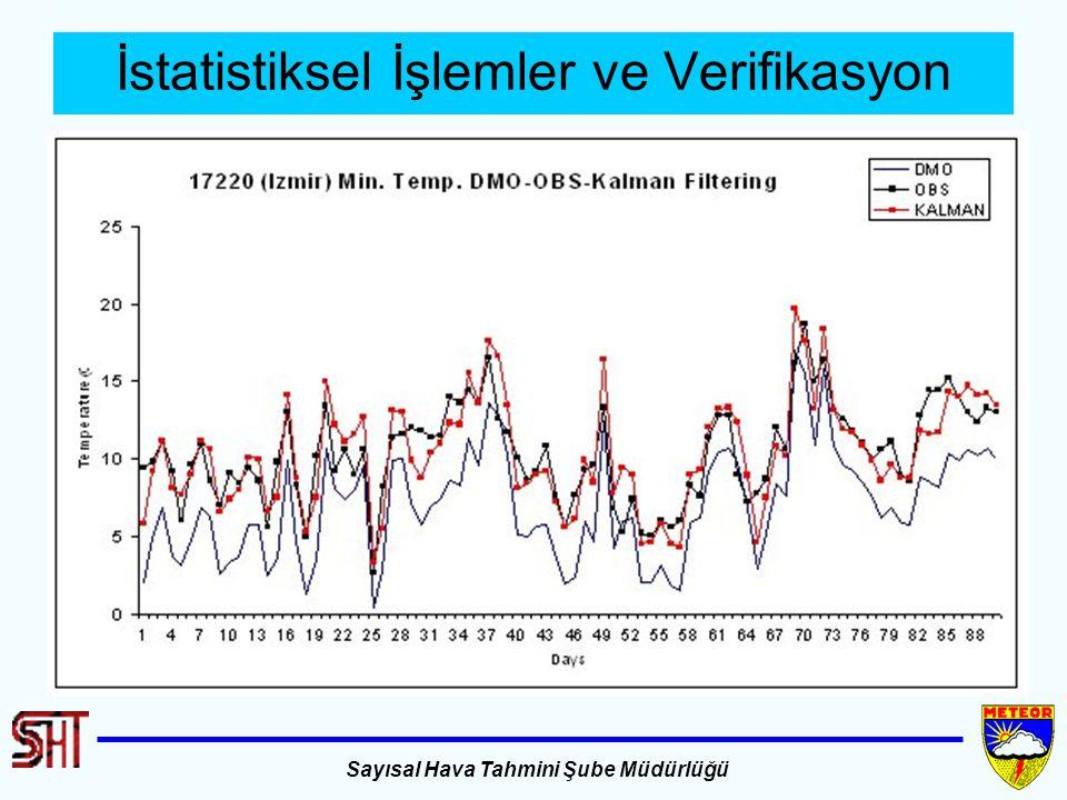 İstatistiksel İşlemler ve Verifikasyon
