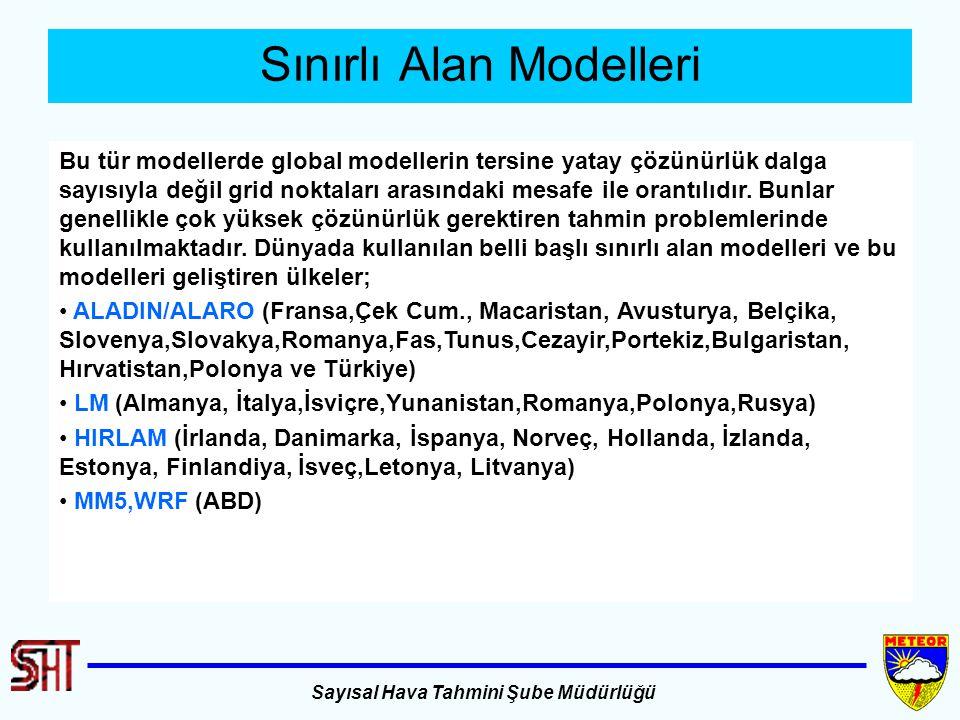 Sınırlı Alan Modelleri