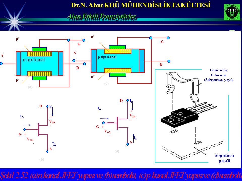 Tranzistör tutucusu (Sıkıştırma yayı)