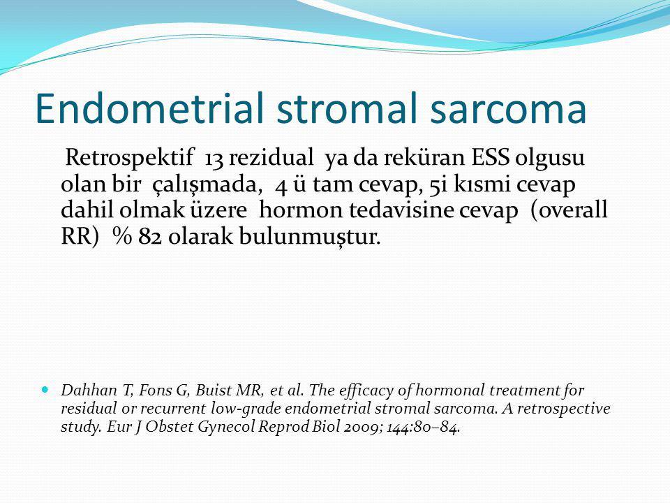 Endometrial stromal sarcoma