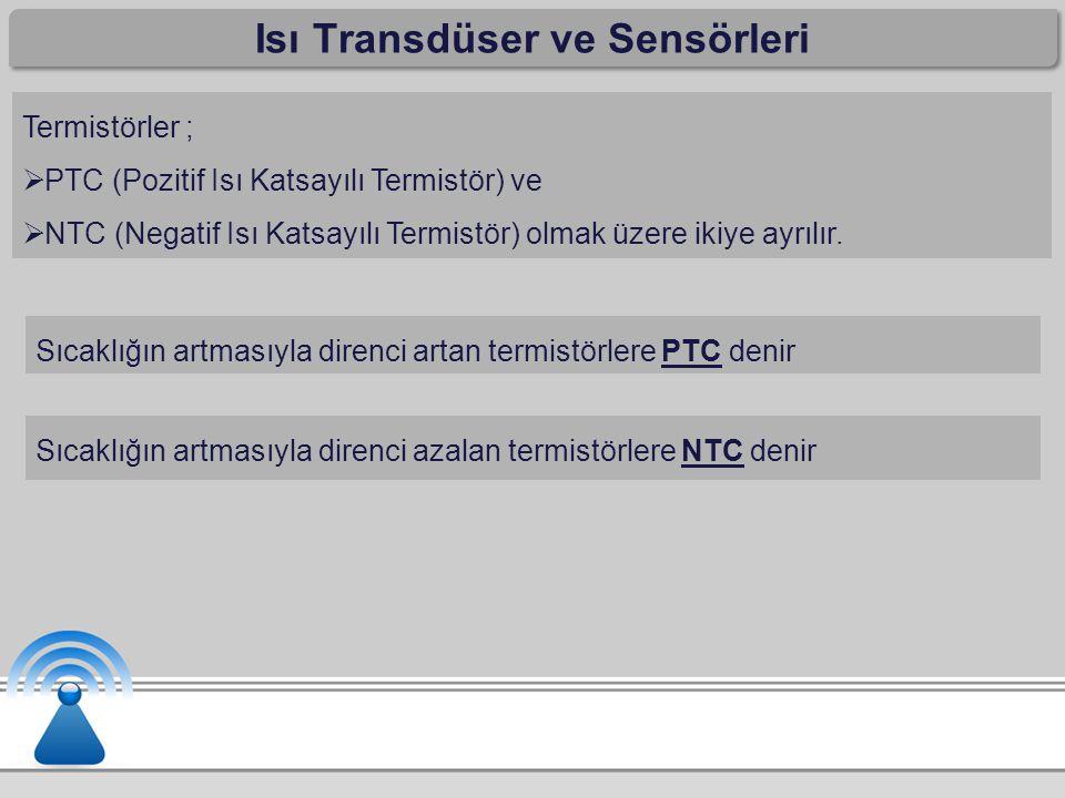 Isı Transdüser ve Sensörleri