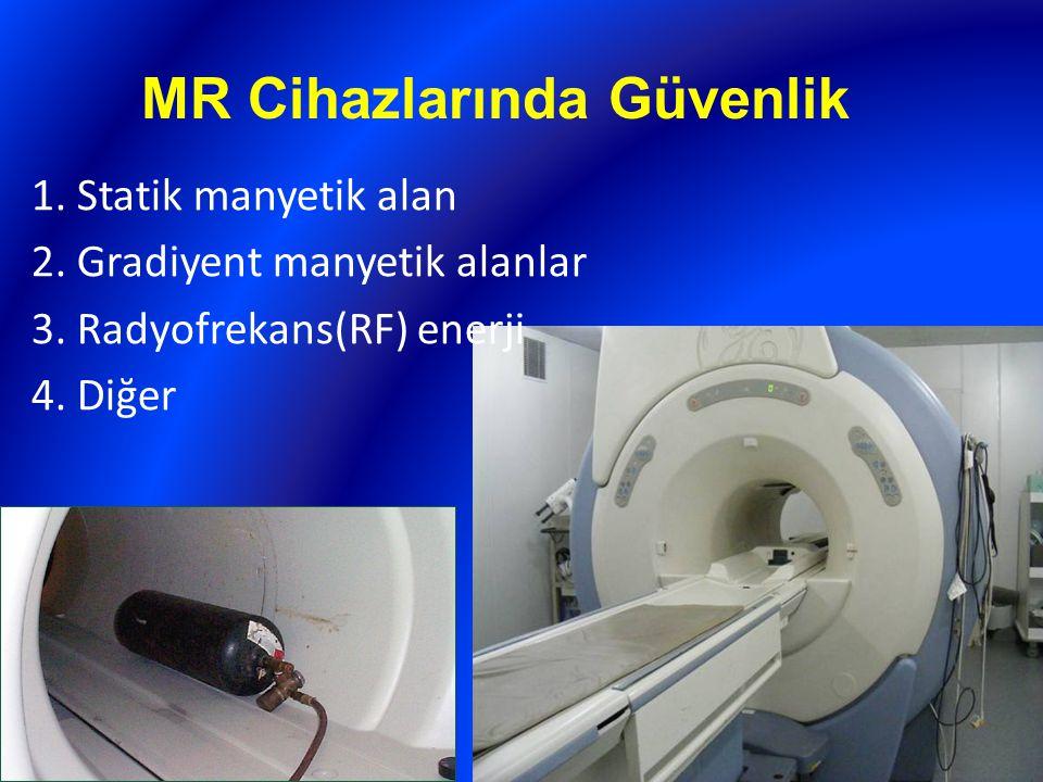 MR Cihazlarında Güvenlik