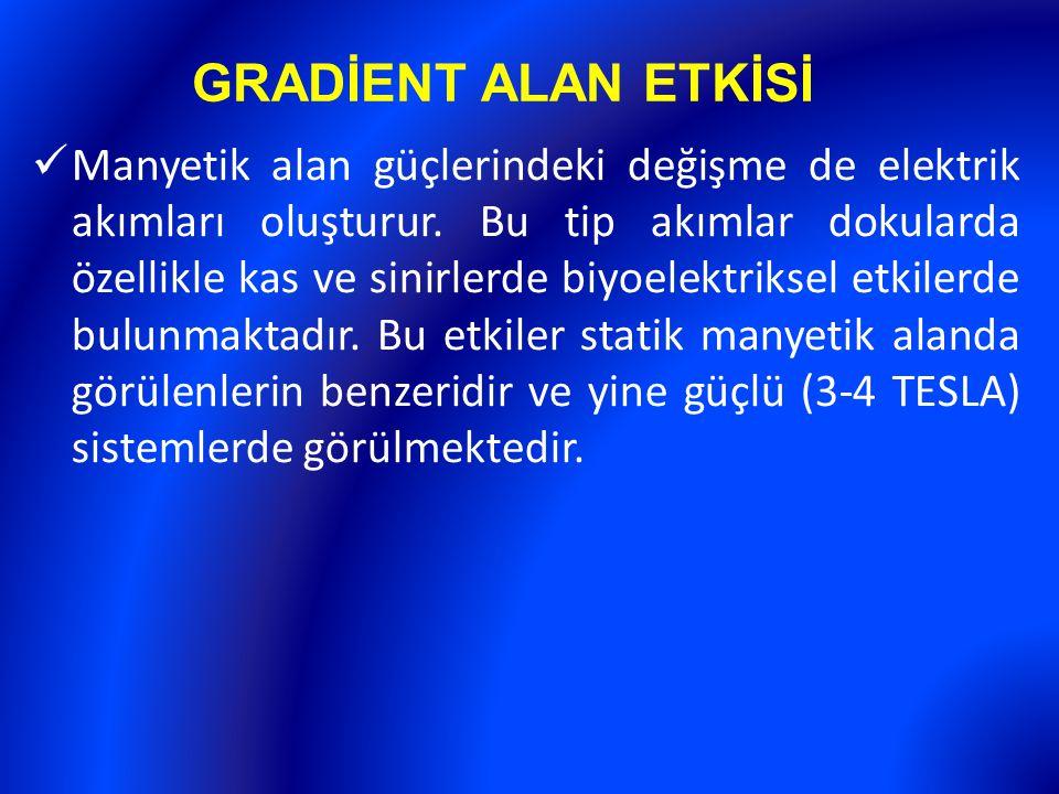 GRADİENT ALAN ETKİSİ
