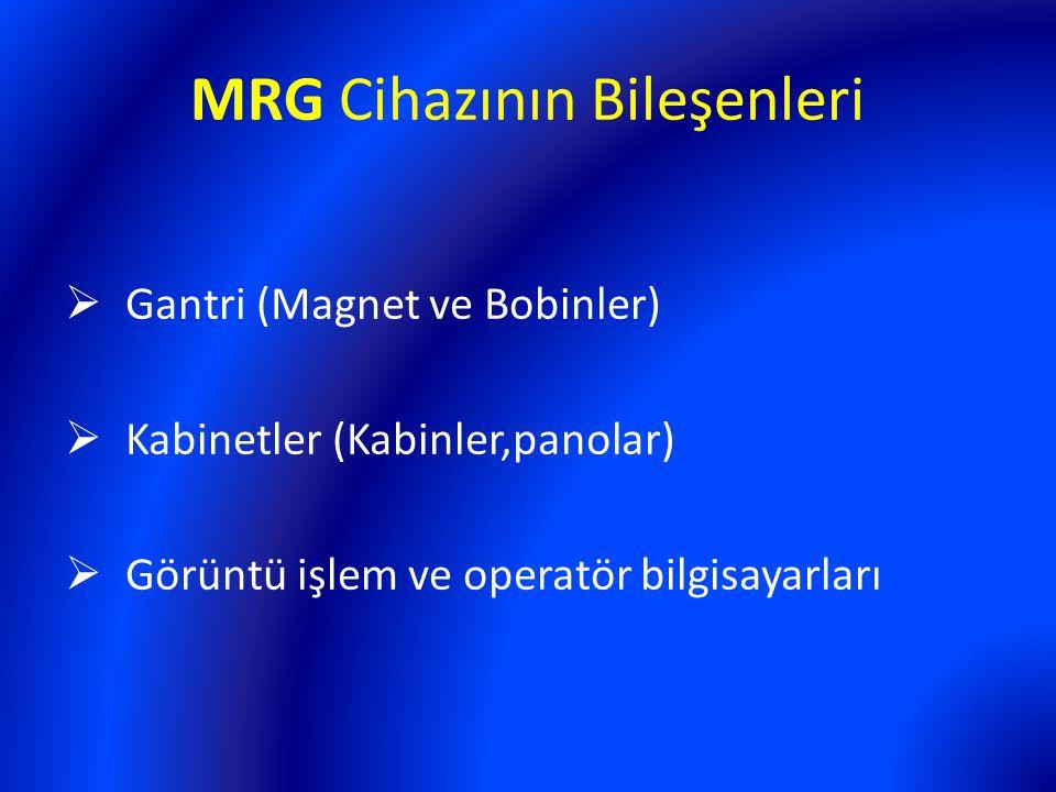 MRG Cihazının Bileşenleri