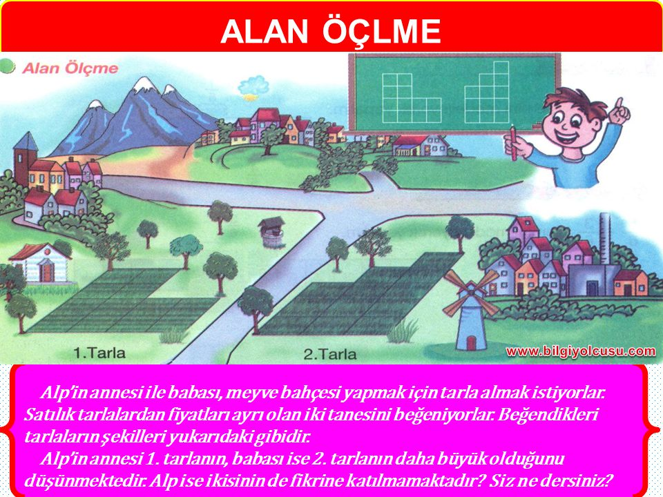 ALAN ÖÇLME www.bilgiyolcusu.com.