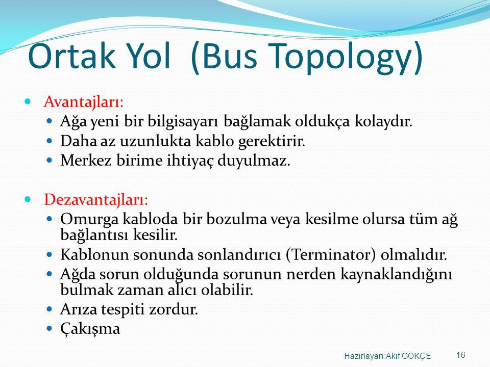 Ortak Yol (Bus Topology)