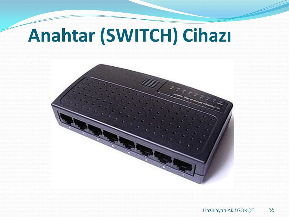 Anahtar (SWITCH) Cihazı