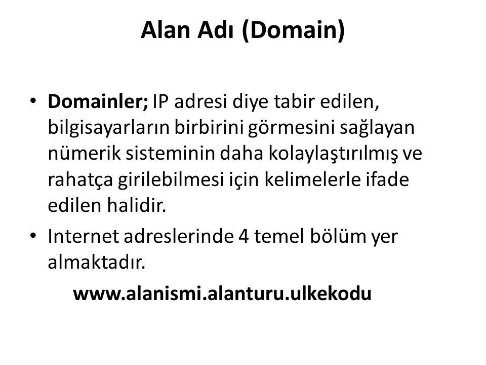 Alan Adı (Domain)