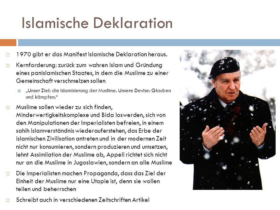 Islamische Deklaration