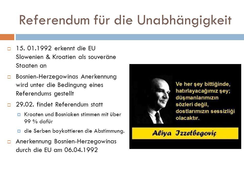 Referendum für die Unabhängigkeit