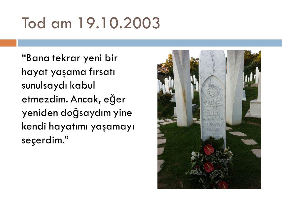Tod am 19.10.2003