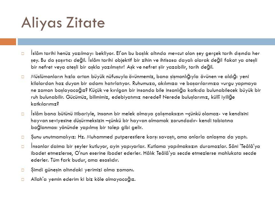 Aliyas Zitate