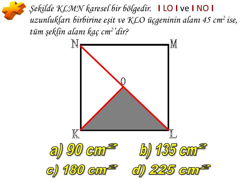 * K L N M O a) 90 cm 2 c) 180 cm d) 225 cm b) 135 cm