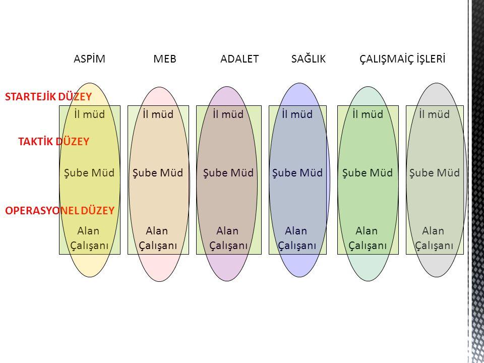 ASPİM MEB ADALET SAĞLIK ÇALIŞMA İÇ İŞLERİ