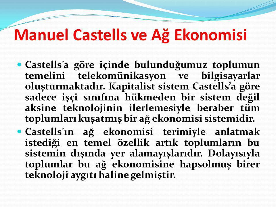 Manuel Castells ve Ağ Ekonomisi