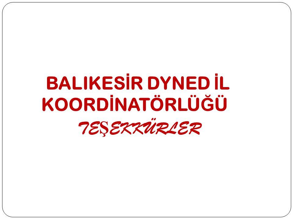 BALIKESİR DYNED İL KOORDİNATÖRLÜĞÜ