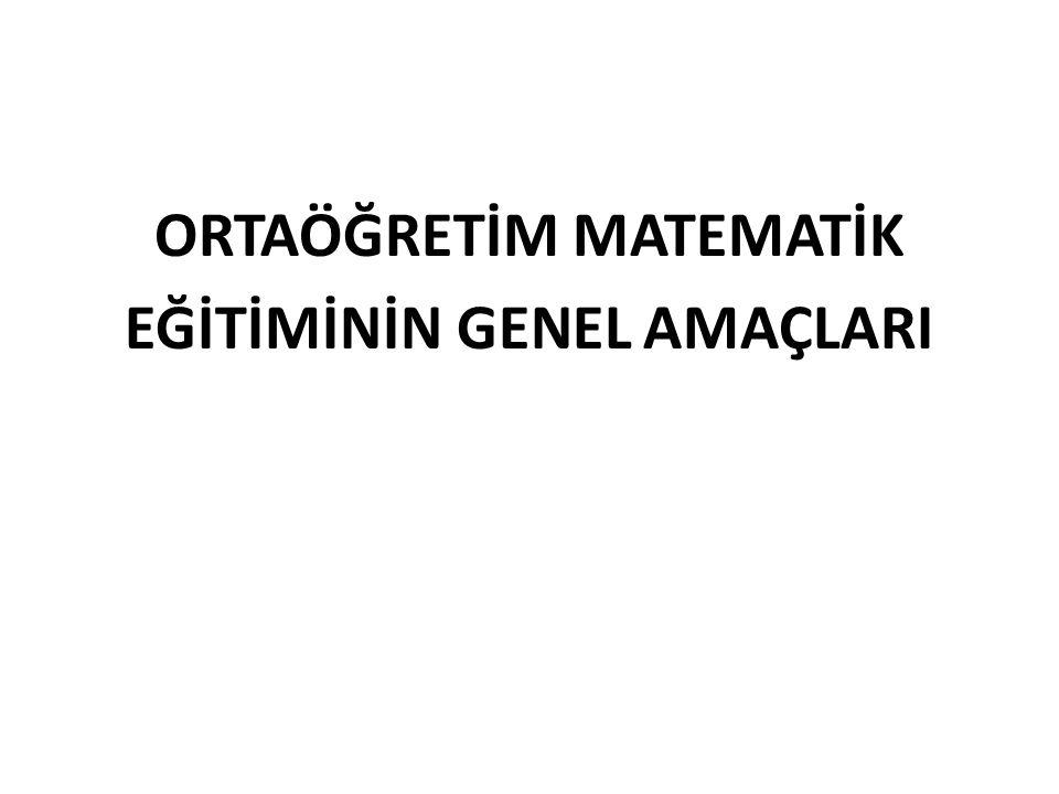 ORTAÖĞRETİM MATEMATİK