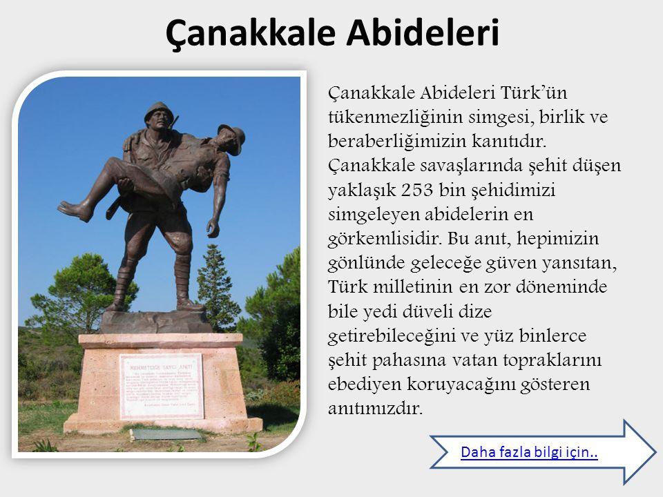Çanakkale Abideleri