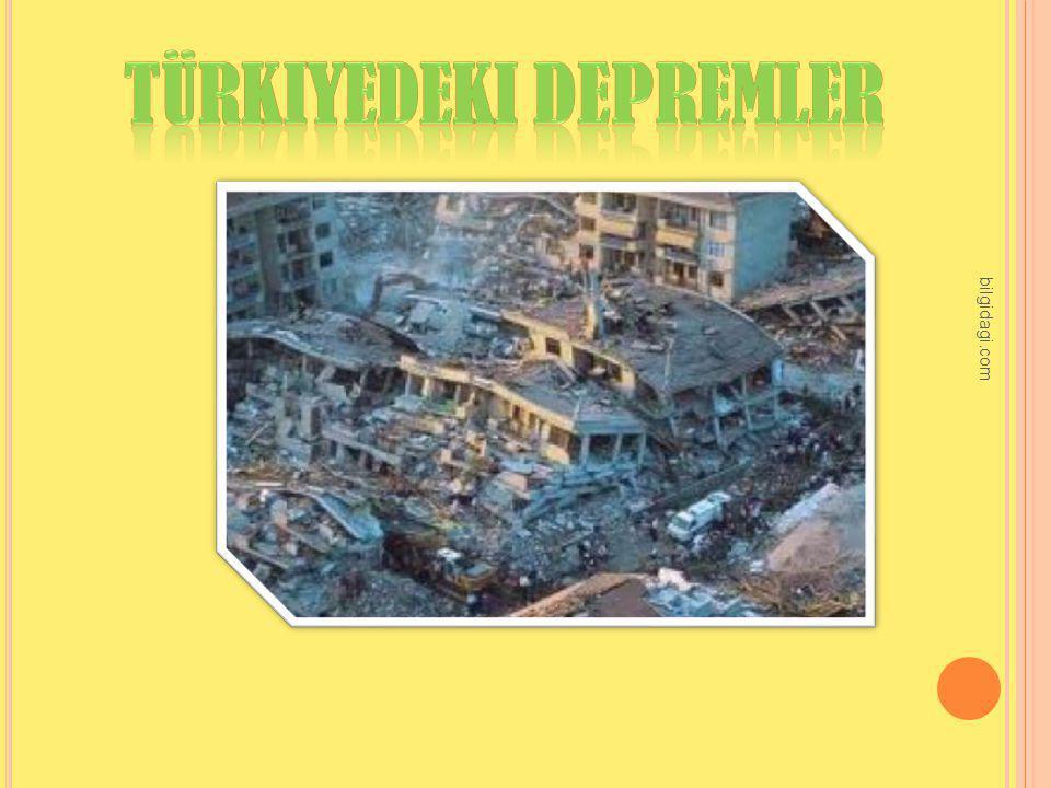 Türkiyedeki depremler