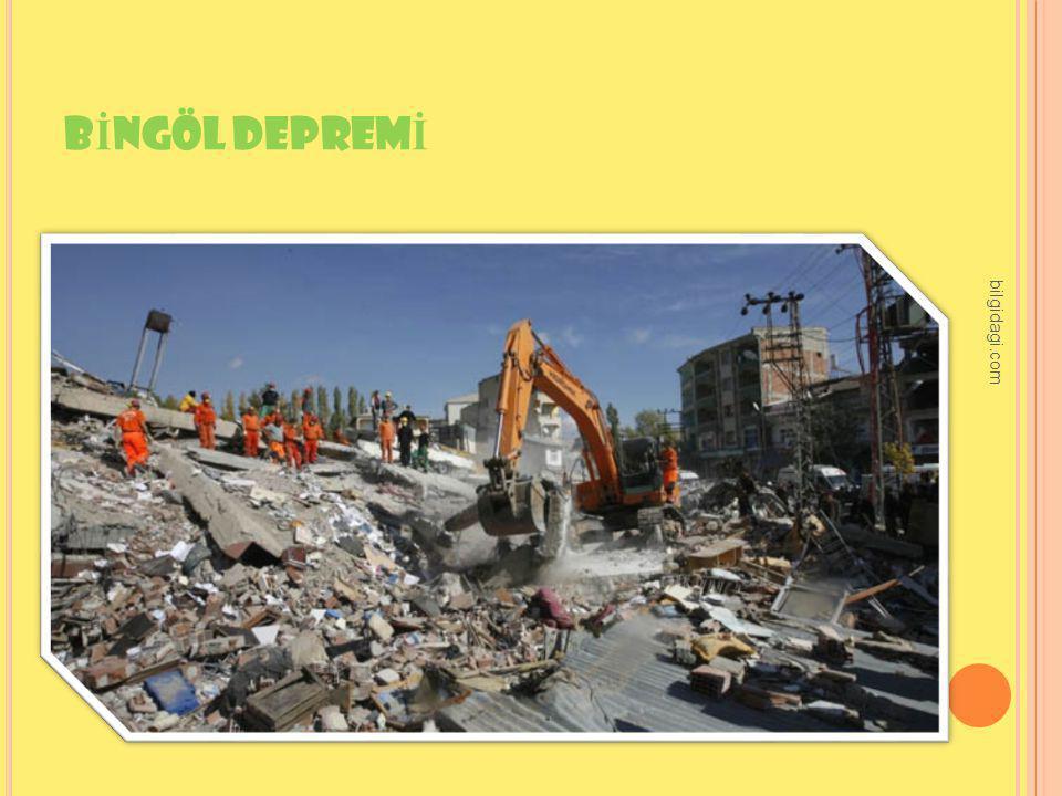 BİNGÖL DEPREMİ bilgidagi.com