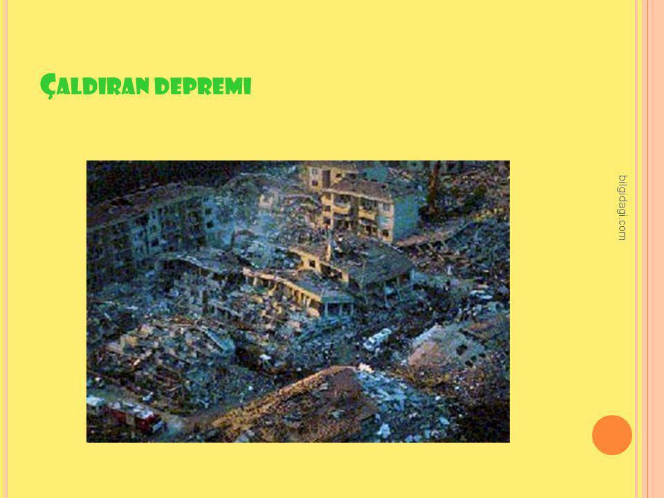 Çaldıran depremi bilgidagi.com