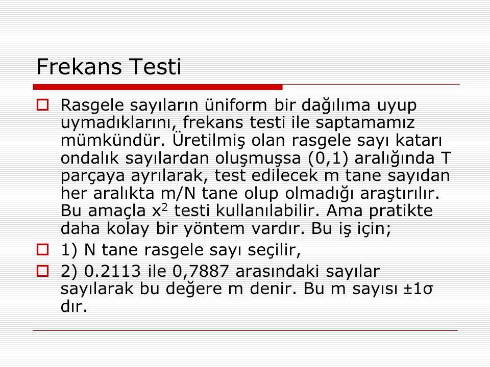 Frekans Testi