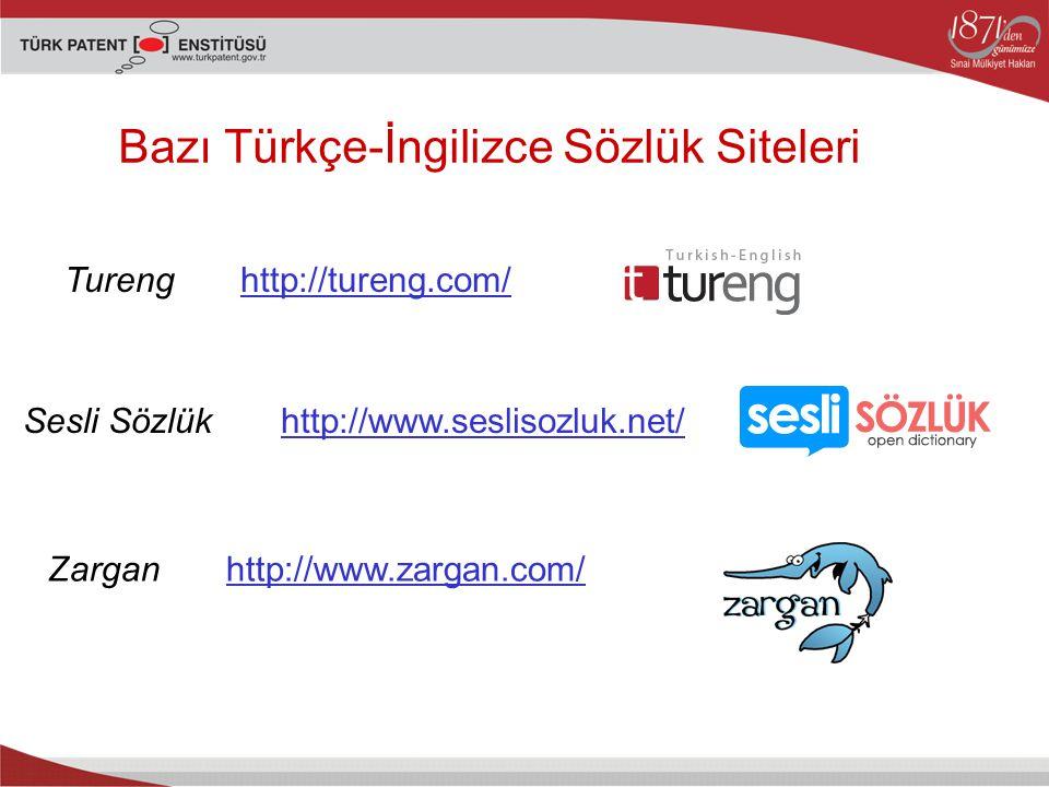 Bazı Türkçe-İngilizce Sözlük Siteleri