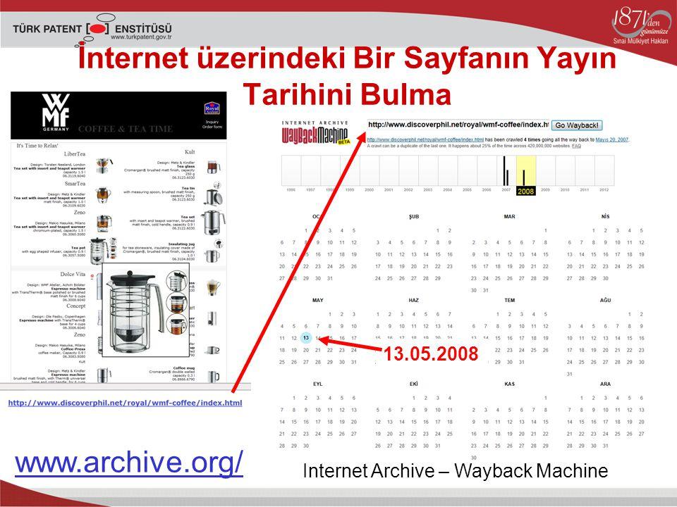 İnternet üzerindeki Bir Sayfanın Yayın Tarihini Bulma