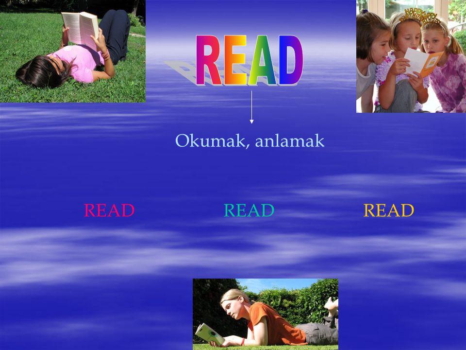 READ Okumak, anlamak READ READ READ