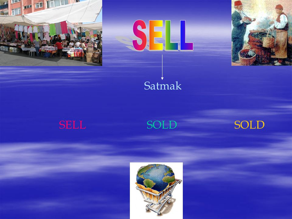 SELL Satmak SELL SOLD SOLD