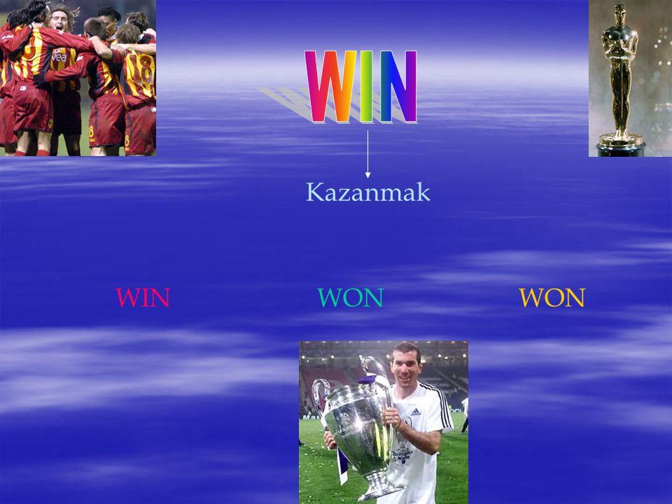 WIN Kazanmak WIN WON WON
