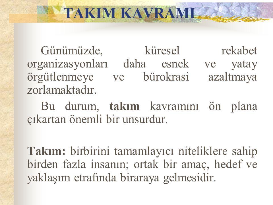 TAKIM KAVRAMI