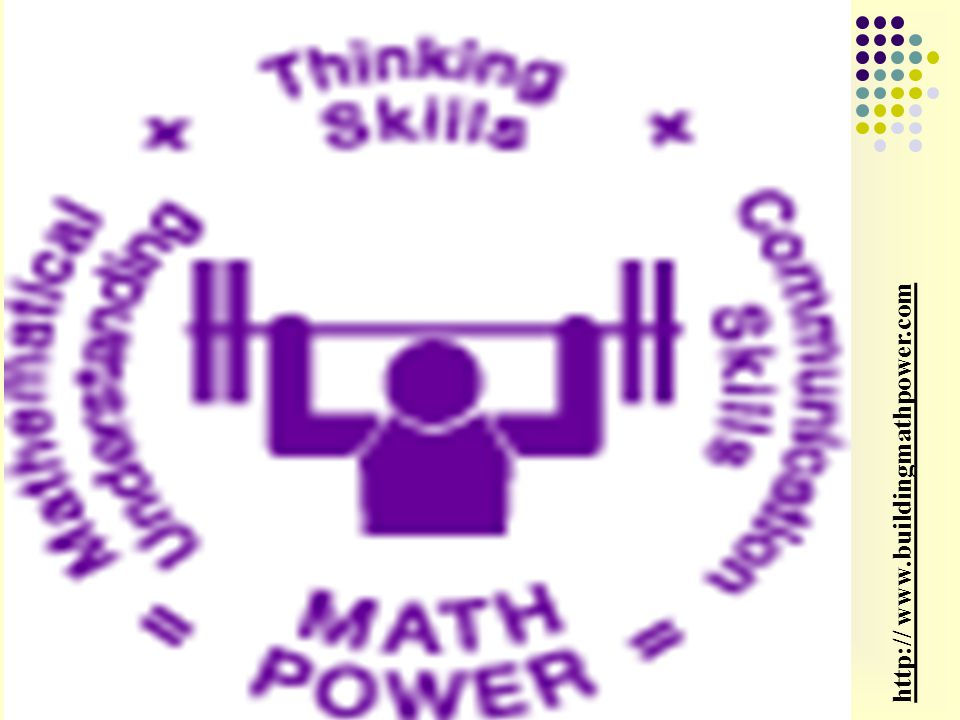http:// www.buildingmathpower.com