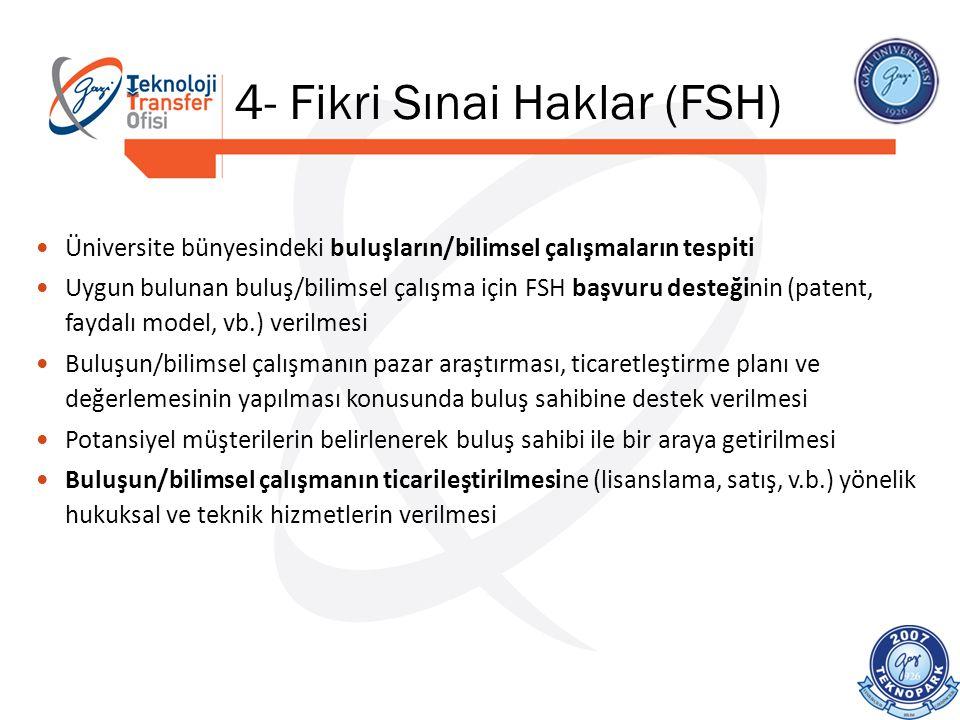 4- Fikri Sınai Haklar (FSH)