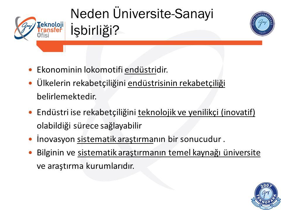 Neden Üniversite-Sanayi İşbirliği