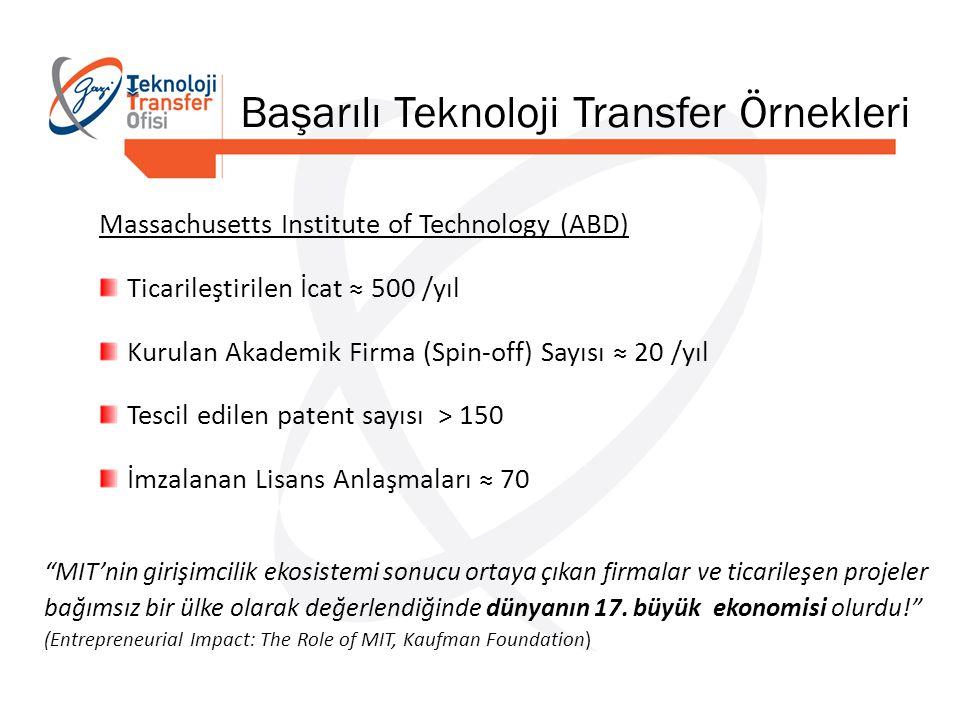 Başarılı Teknoloji Transfer Örnekleri
