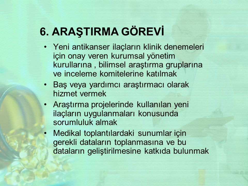 6. ARAŞTIRMA GÖREVİ