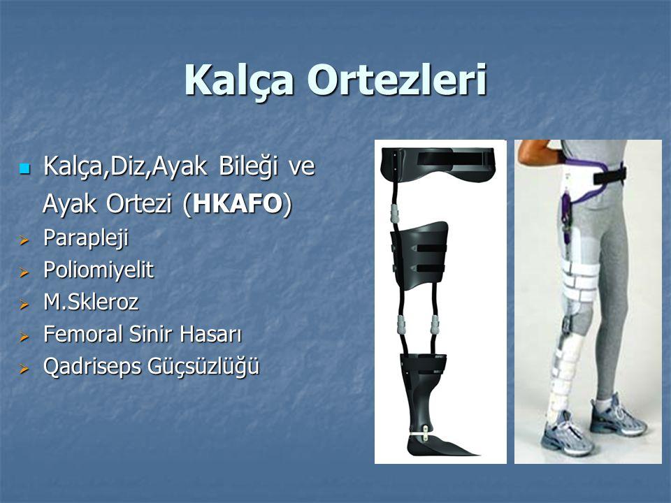Kalça Ortezleri Kalça,Diz,Ayak Bileği ve Ayak Ortezi (HKAFO) Parapleji