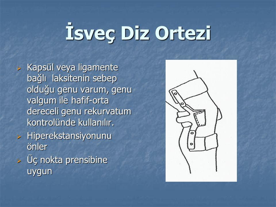 İsveç Diz Ortezi