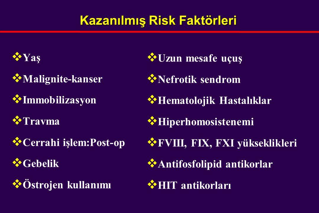 Kazanılmış Risk Faktörleri