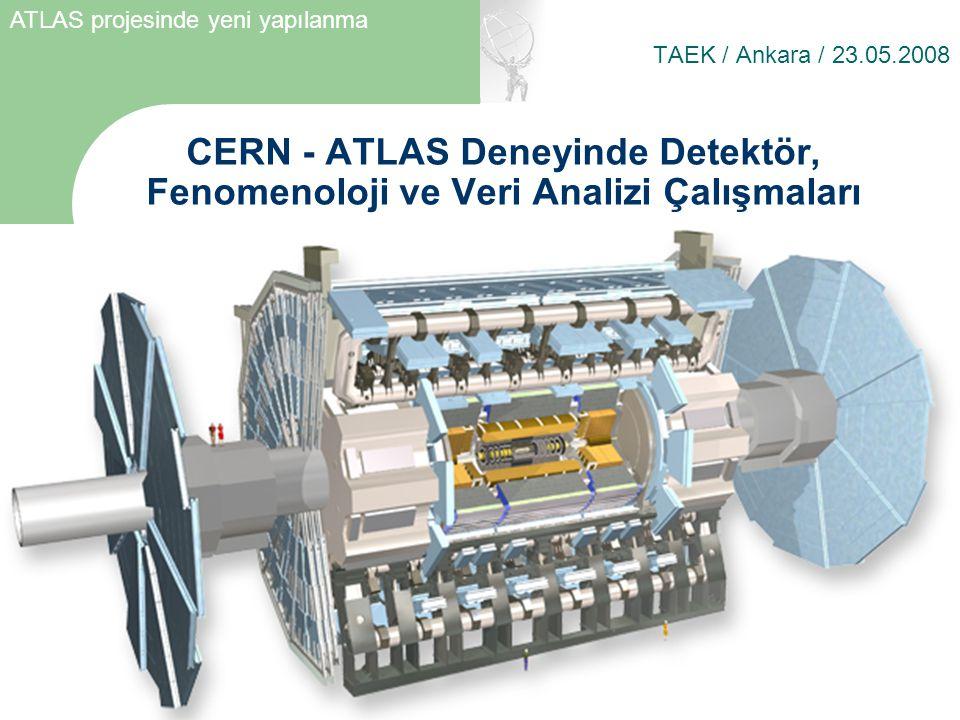 ATLAS projesinde yeni yapılanma