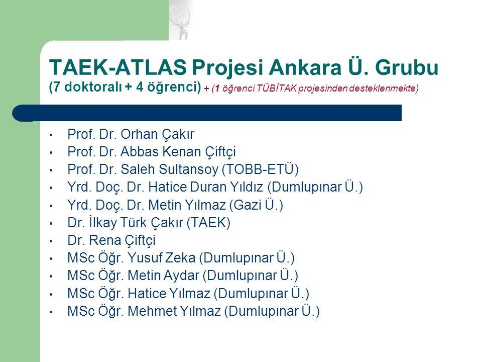 TAEK-ATLAS Projesi Ankara Ü