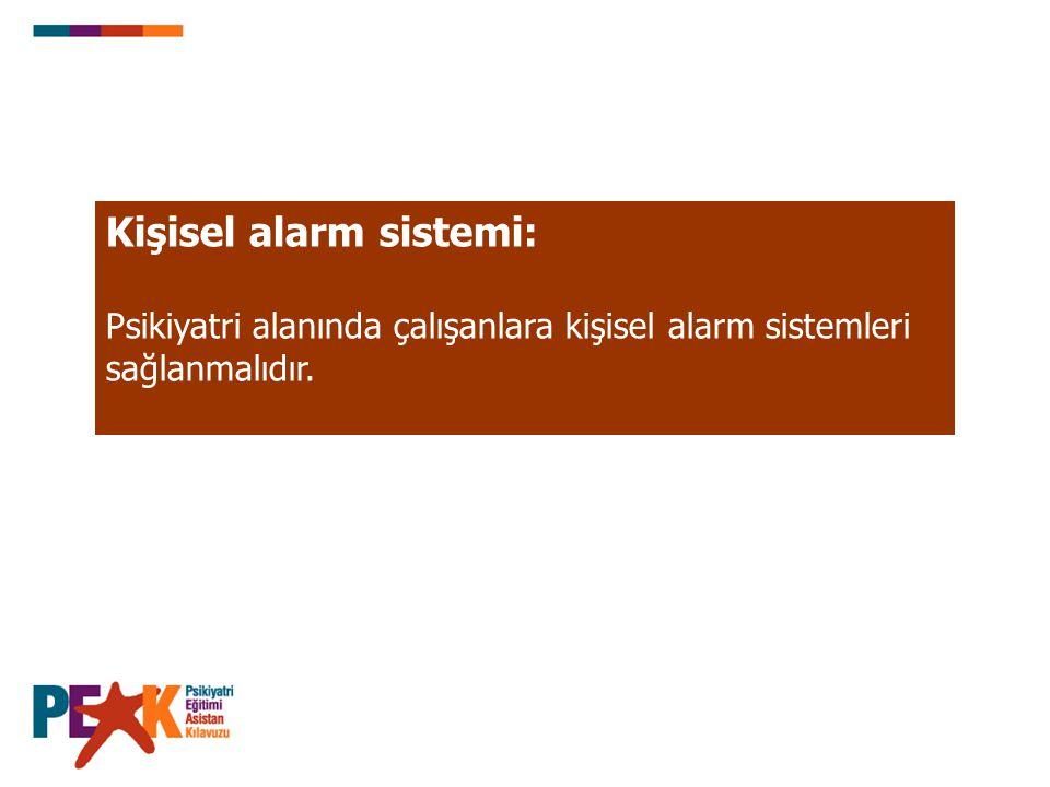 Kişisel alarm sistemi:
