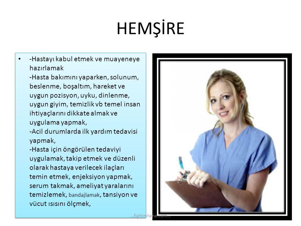 HEMŞİRE