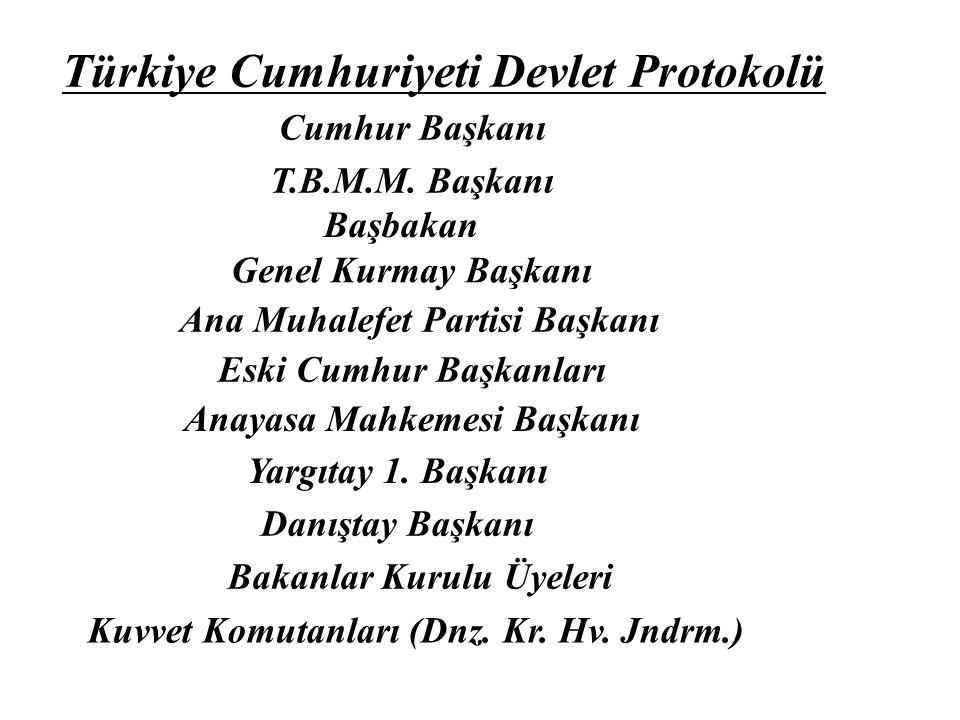 Türkiye Cumhuriyeti Devlet Protokolü