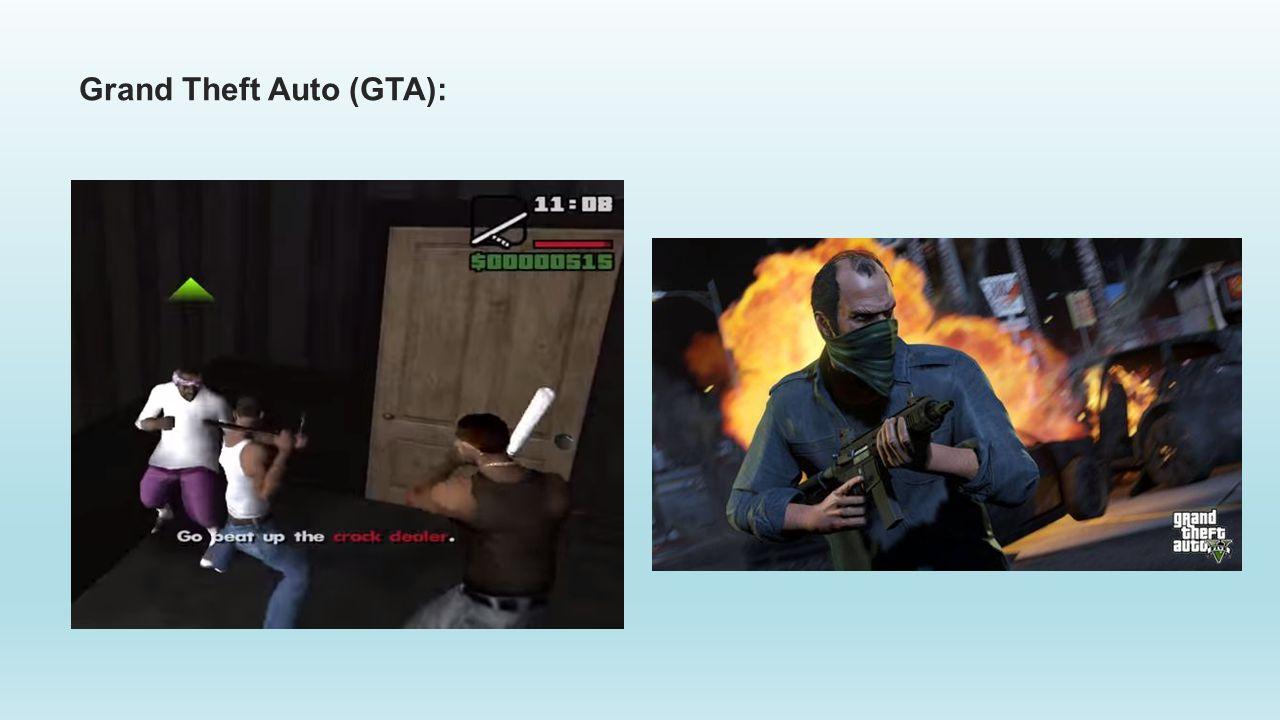 Grand Theft Auto (GTA):