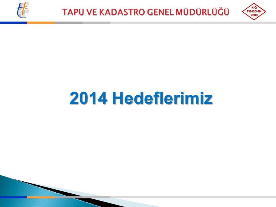 2014 Hedeflerimiz