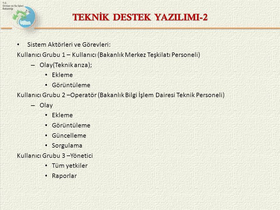 TEKNİK DESTEK YAZILIMI-2