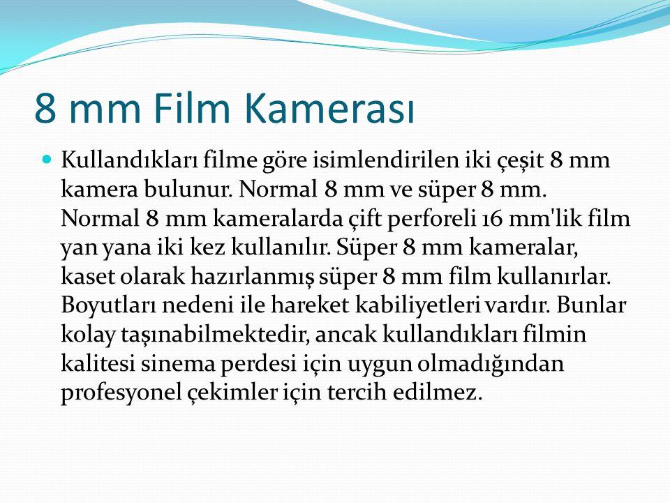 8 mm Film Kamerası